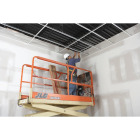 Donn 12 Ft. x 7/8 in. White Steel Ceiling Wall Molding Image 6
