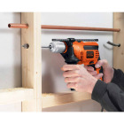 Black and Decker 1/2 In. 6.5-Amp Keyless Electric Hammer Drill Image 2