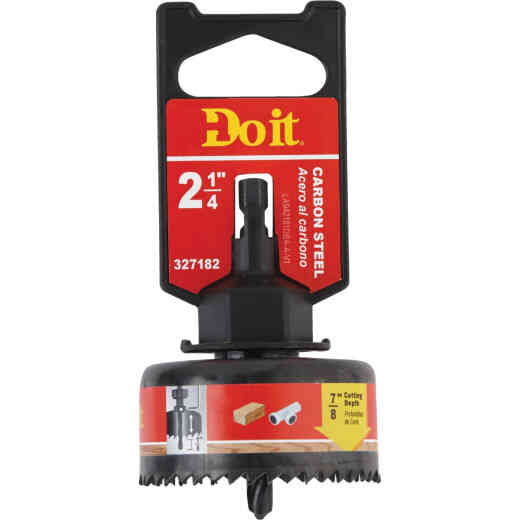 Do it 2-1/4 In. Carbon Steel Hole Saw with Mandrel