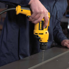 DeWalt 3/8 In. 8-Amp Keyless Electric Drill Image 2