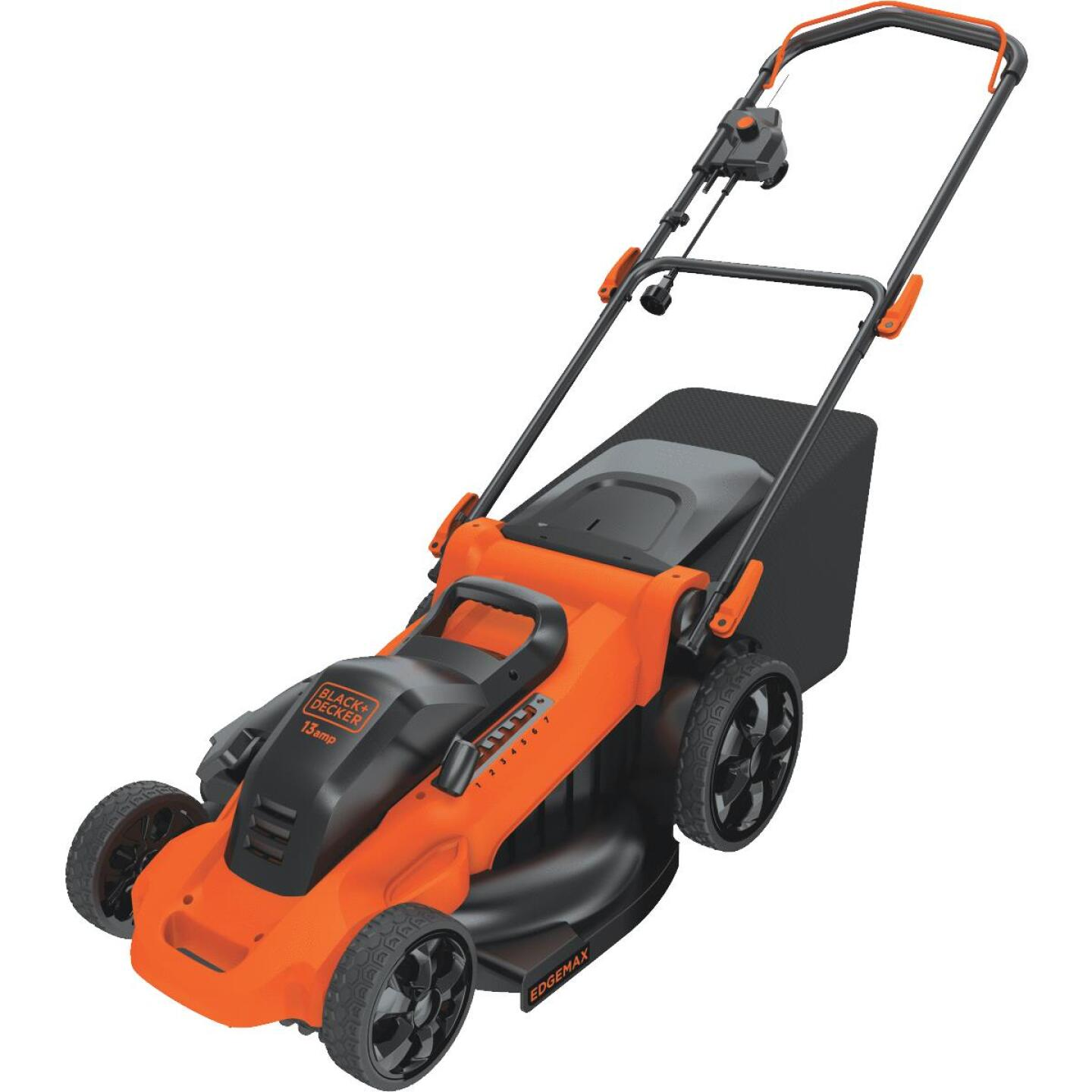 Black & Decker 20 In. 13A Push Electric Lawn Mower Image 2